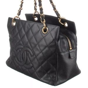 Chanel Petite Timeless Tote in black